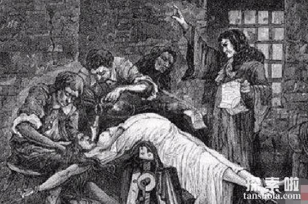 古罗马酷刑之碾刑,用重物碾压活人成肉酱(三种行刑方式)