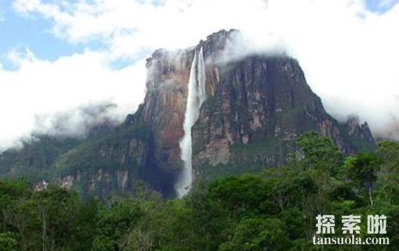 探索世界瀑布之最:安赫尔瀑布,落差千米的天使瀑布