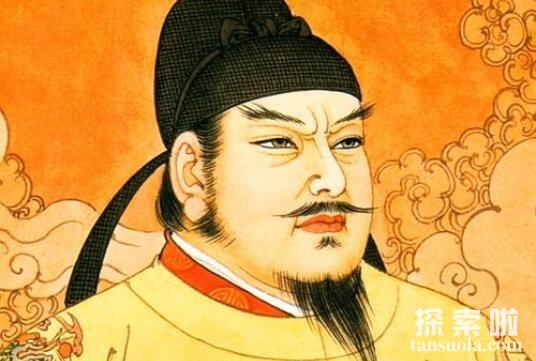 唐朝最帅的皇帝:李世民,高颜值父母生的帅儿子(基因优良)