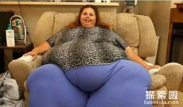 世界上最重的人排行,第一名体重1270斤(病态重)