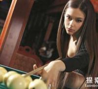 俄罗斯台球女神:阿纳斯塔西,高颜值的美女学霸(多幅美照)