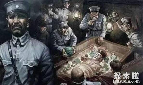 东陵大盗孙殿英怎么死的,竟然是这个害了他(有名的盗墓贼)