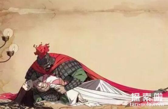 虞姬怎么死的,凶手竟是楚霸王