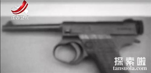 侵华日军总司令冈村宁次丢失的枪