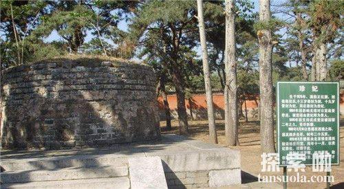 珍妃井灵异事件的故事 珍妃墓墓出土照片