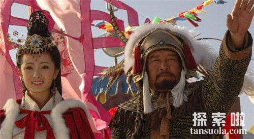 王昭君嫁给呼韩邪单于
