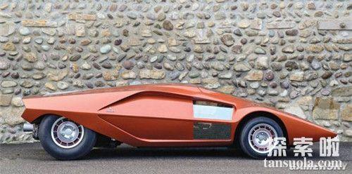 盘点世界十大造型奇葩的概念改装汽车蓝旗亚StratosZero