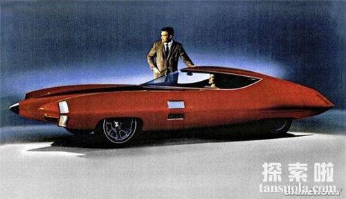 盘点世界十大造型奇葩的概念改装汽车GM-XStiletto