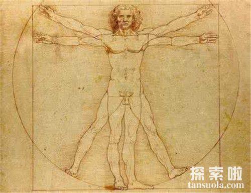 达芬奇的作品《维特鲁威人》
