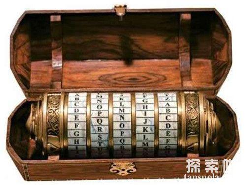 达·芬奇设计的密码筒