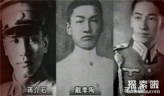 蒋纬国长得不像戴季陶 揭秘戴季陶和蒋纬国合照照片背后的秘密