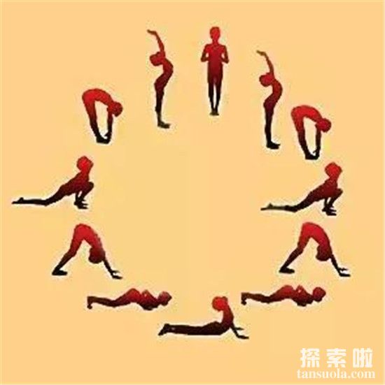 瑜伽入门式:练习高难度动作前,简易的体式热身能让你身心放松!